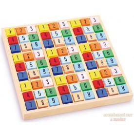 Sudoku dřevěné kostky