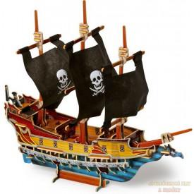 3D puzzle Pirátská loď