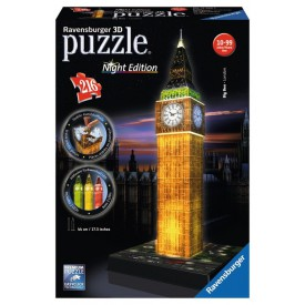 Ravensburger 3D puzzle Big Ben Night Edition