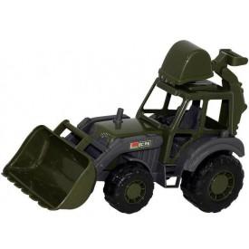 Polesie Traktor Mistr - Nakladač s lopatou vojenský