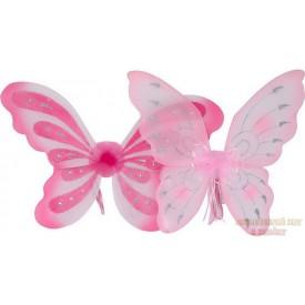 Vílí křídla růžové