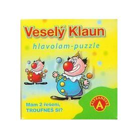 Alexander Hlavolam puzzle veselý klaun
