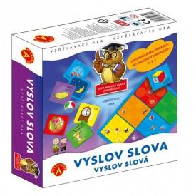 Alexander Vyslov Slova didaktická hra