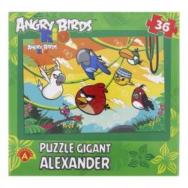 Alexander Angry Birds RIO puzzle Gigant 36 dílků