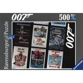 Ravensburger Puzzle Kolekce James Bond 500 dílků