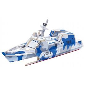 Robotime dřevěná skládačka - Útočná loď typ 022