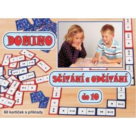 Svoboda Domino sčítání a odčítání do 10 společenská hra