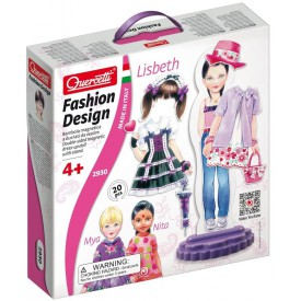 Quercetti Fashion Design Lisbeth oblékací magnetická panenka