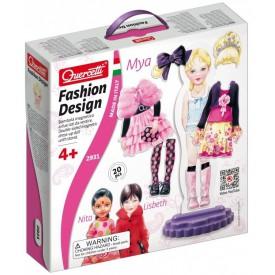 Quercetti Fashion Design Mya oblékací magnetická panenka