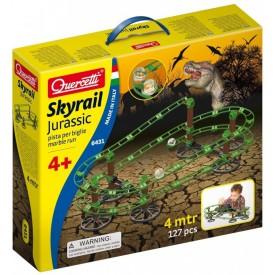 Quercetti Skyrail Jurassic - kuličková dráha