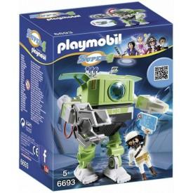 PLAYMOBIL 6693 Robot Čistič s padouchem