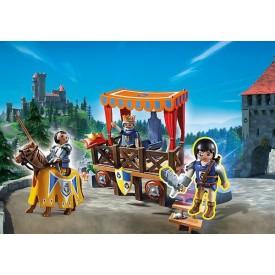 PLAYMOBIL 6695 Královská tribuna s rytířem Alexem
