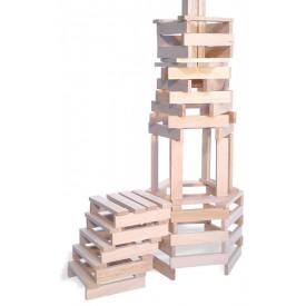 Vilac - Dřevěné kostky 200 dílů