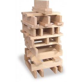 Vilac - Dřevěné kostky 100 dílů