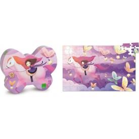 Vilac - Dřevěné puzzle - Magický kůň 100 dílků