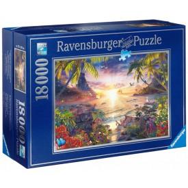 Ravensburger puzzle Západ slunce 18000 dílků