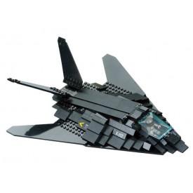 Stavebnice SLUBAN B0108 Útočný letoun F-117 Nighthawk