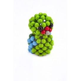 Zvířátko z perliček - Zelený papoušek