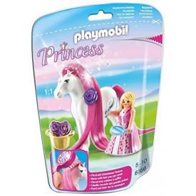 PLAYMOBIL 6166 Princezna Rosalie s koňěm