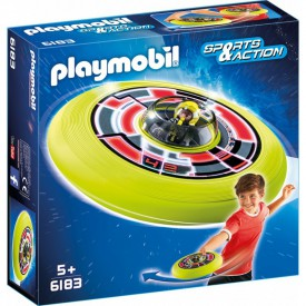 PLAYMOBIL 6183 Super letájící talíř s astronautem