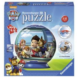 Ravensburger 3D puzzleball Tlapková Patrola 72 dílků