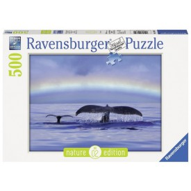 Ravensburger puzzle Nature edition Klidný moment 500 dílků