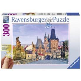Ravensburger puzzle Gold edition Krásná Praha 300 dílků