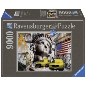 Ravensburger puzzle Metropole New York City 9000 dílků