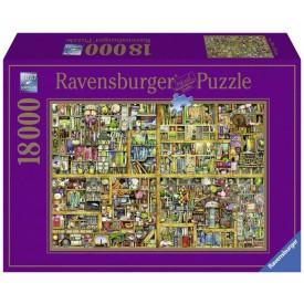Ravensburger puzzle Magická knihovna XXL 18000 dílků
