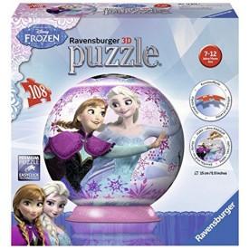 Ravensburger 3D puzzleball Frozen Ledové království Anna a Elsa 108 dílků