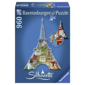 Ravensburger Silhouette puzzle Eiffelova věž 960 dílků