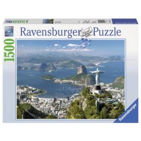 Ravensburger puzzle Výhled na Rio 1500 dílků