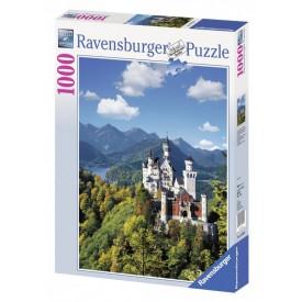 Ravensburger puzzle Neuschwanstein na podzim 1000 dílků