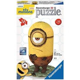 Ravensburger 3D puzzle Mimoni Pravěký Stuart 54 dílků
