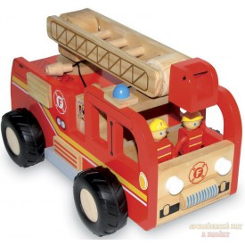Hasičské auto s figurkami