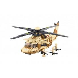 Stavebnice SLUBAN B0509 UH-60L Blackhawk helikoptéra