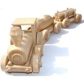 CEEDA CAVITY Dřevěný nákladní vlak
