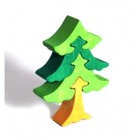 CEEDA CAVITY Dřevěné malé puzzle Jedle