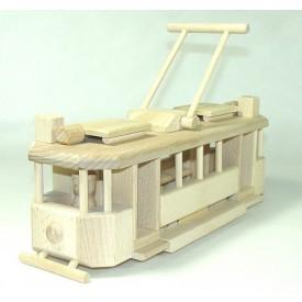CEEDA CAVITY Dřevěná historická Tramvaj