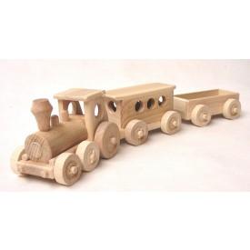 CEEDA CAVITY Dřevěný Osobní vlak