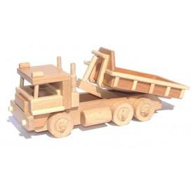 CEEDA CAVITY Dřevěný Auto s kontejnerem