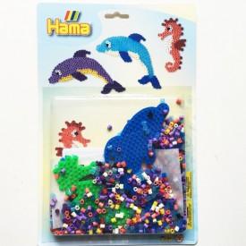 HAMA Zažehlovací korálkový set Delfíni MIDI
