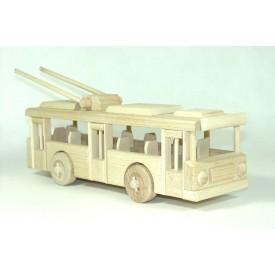 CEEDA CAVITY Dřevěný Trolejbus