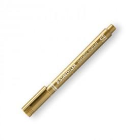 STAEDTLER Popisovač metalický zlatý