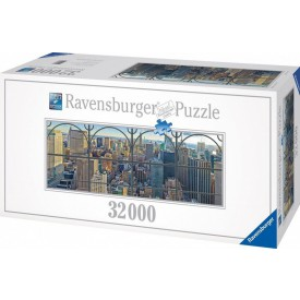 Ravensburger Puzzle Pohled na Manhattan 32.000 dílků 17837