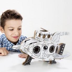 Kartonová 3D skládačka TO DO Raketa