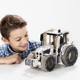 Kartonová 3D skládačka TO DO Traktor