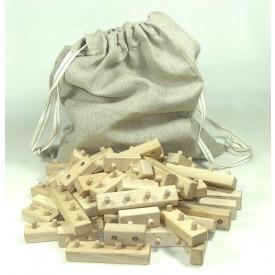 CEEDA CAVITY Dřevěné kostky na stavění