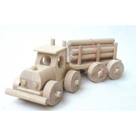 CEEDA CAVITY Dřevěný Tirák s kládami