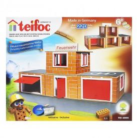 Stavebnice Teifoc 4800 Hasičská stanice